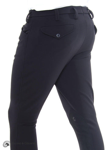 Rodrigo Knee Patch Breech Black-Breeches-Pikeur-30R-Black-Manhattan Saddlery