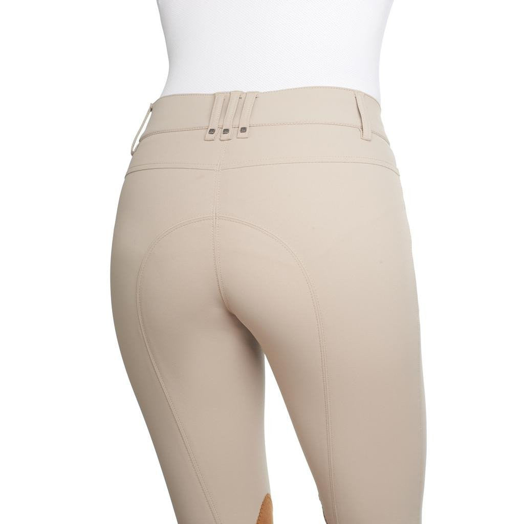 Sarafina Euroseat Breech-Breeches-Romfh-22R-Classic White Sand-Manhattan Saddlery