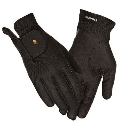 Roeckl Roeck-Grip Winter Weight Gloves-Gloves-Roeckl-Black-6-Manhattan Saddlery