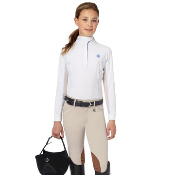 Romfh Sarafina Child's Breech Tan-Breeches-Romfh-10-Tan-Manhattan Saddlery