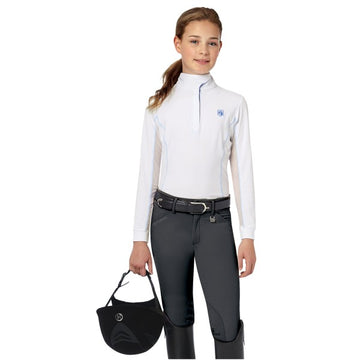 Romfh Sarafina Child's Breech Dark Grey-Breeches-Romfh-10-Dark Grey-Manhattan Saddlery