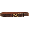 Hoof Pick Belt-Apparel-Tory Leather-30-Havana with Brass-Manhattan Saddlery