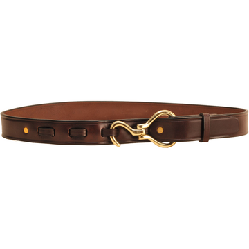 Tory Leather Hoof Pick Belt Havana-Apparel-Tory Leather-30-Havana with Brass-Manhattan Saddlery