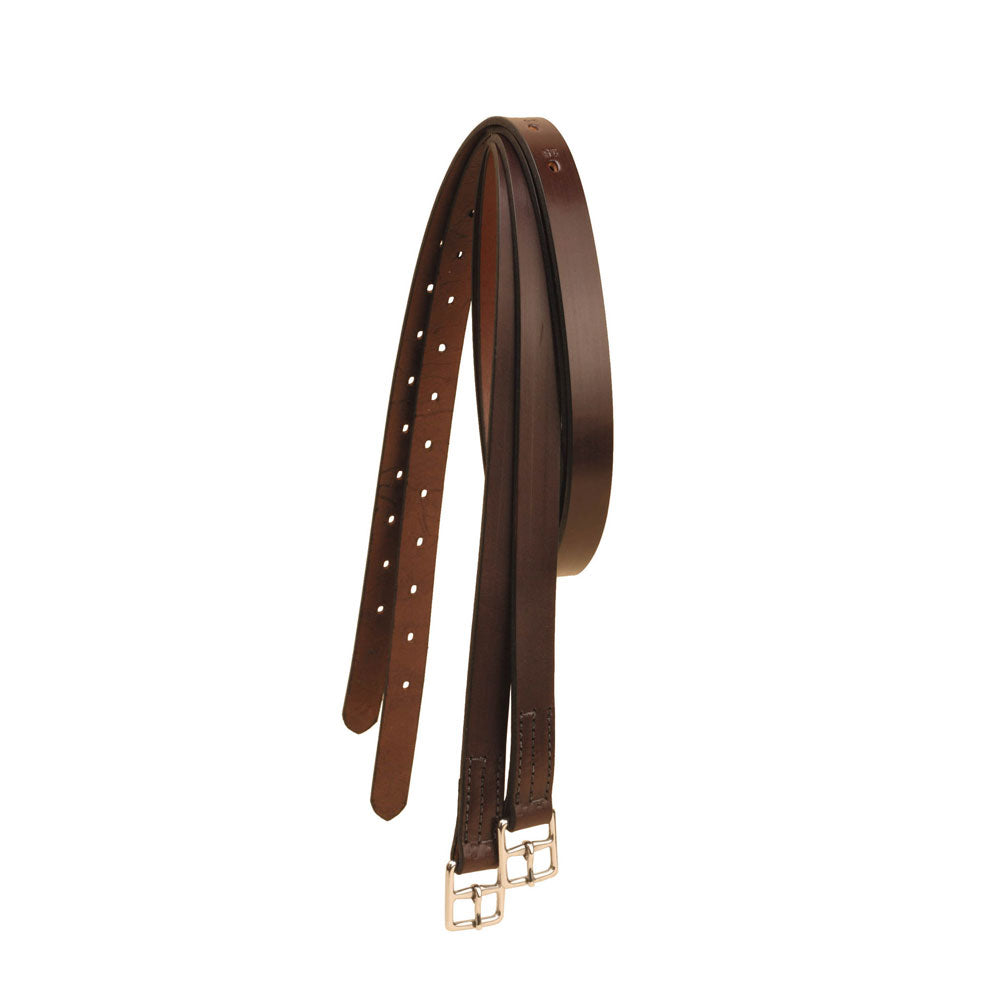 "1"" Stirrup Leather-Stirrup Leathers-Tory Leather-48""-Havana-Manhattan Saddlery"