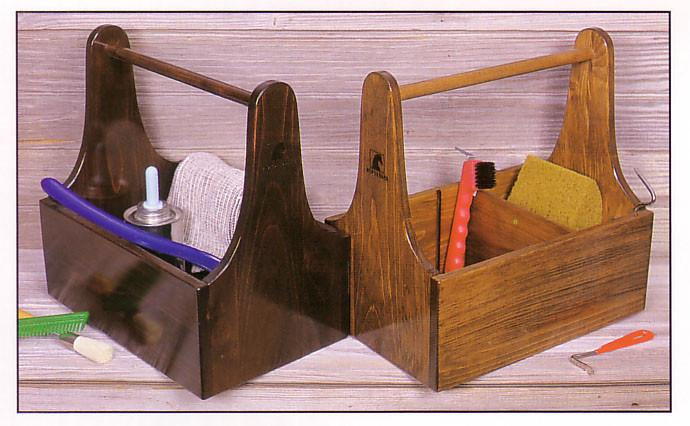 Wooden Grooming Tote-Grooming Box-Horsefare-Manhattan Saddlery