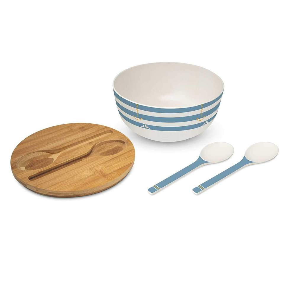 Bamboo Salad Bowl/Serving Set