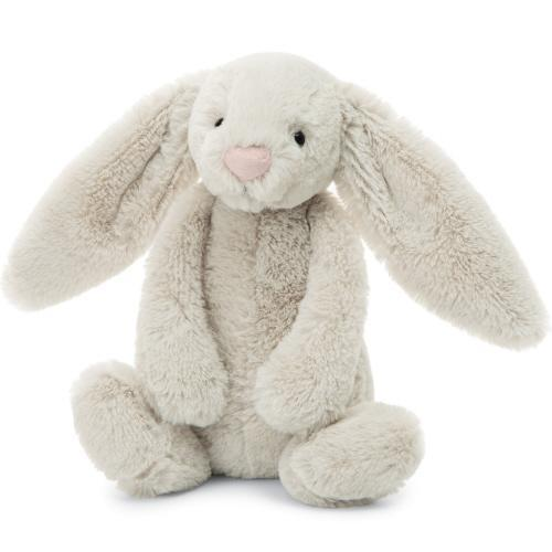 Bashful Oatmeal Bunny - Medium 12"