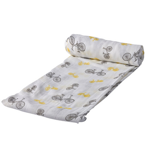 Cotton Muslin Swaddles - Various Prints | Newcastle Classics