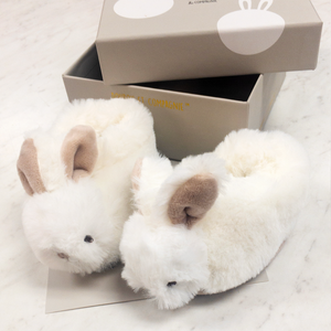Bunny Rattle Slippers - Various Colors | DouDou et Compagnie