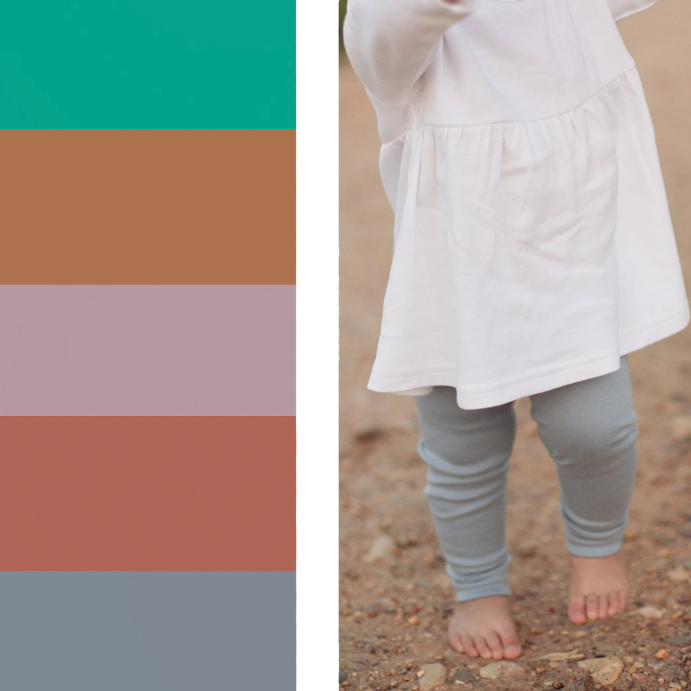 Organic Legging - Various Colors | Modern Burlap
