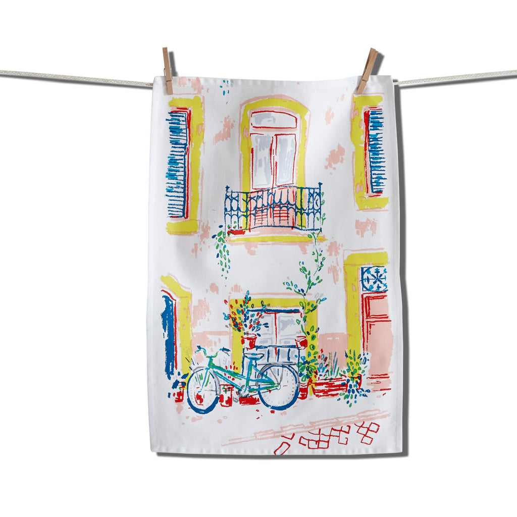Capri Strada kitchen towel