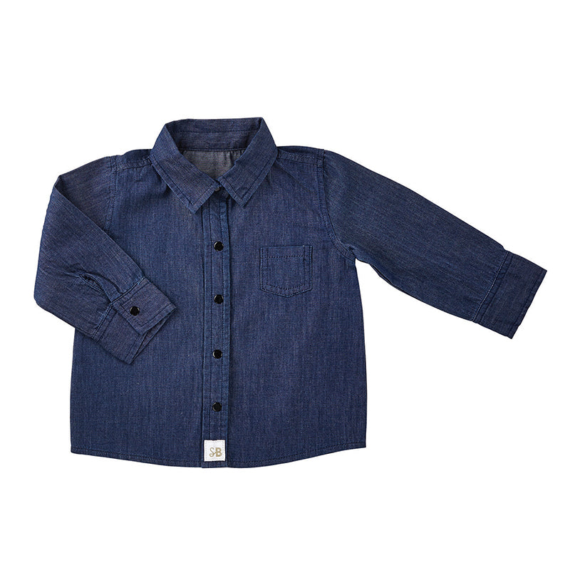 Denim Shirt 6-12 MONTHS | Stephan Baby