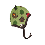 Velour Helmet Hat - Various Prints | Maxomorra