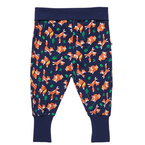 Fox Print Pull Up Trousers | Piccalilly