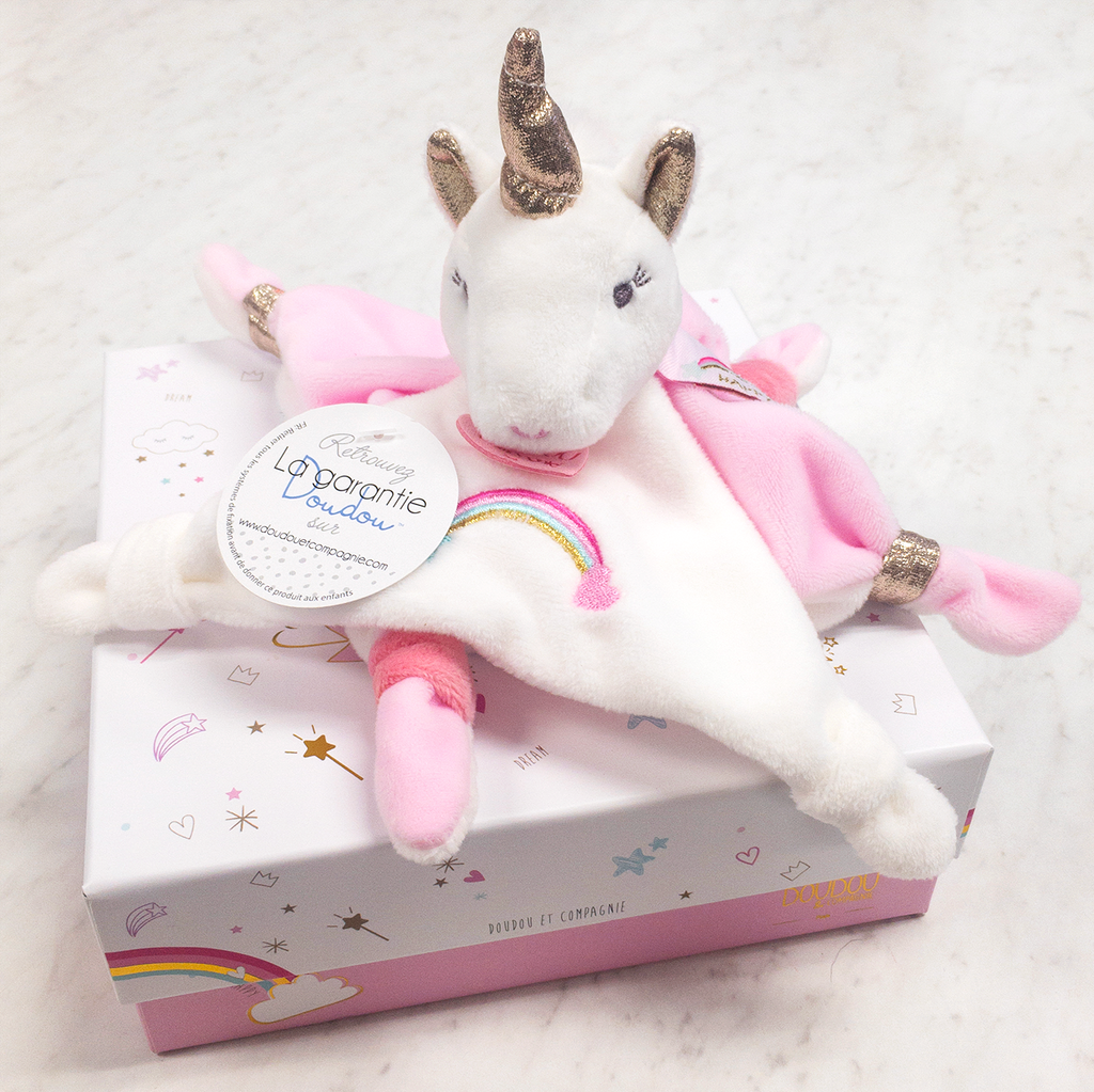 My Pretty Unicorn Comfort Toy | DouDou et Compagnie