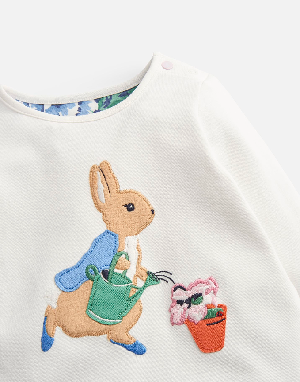 Poppy Peter Rabbit Applique Set | Joules