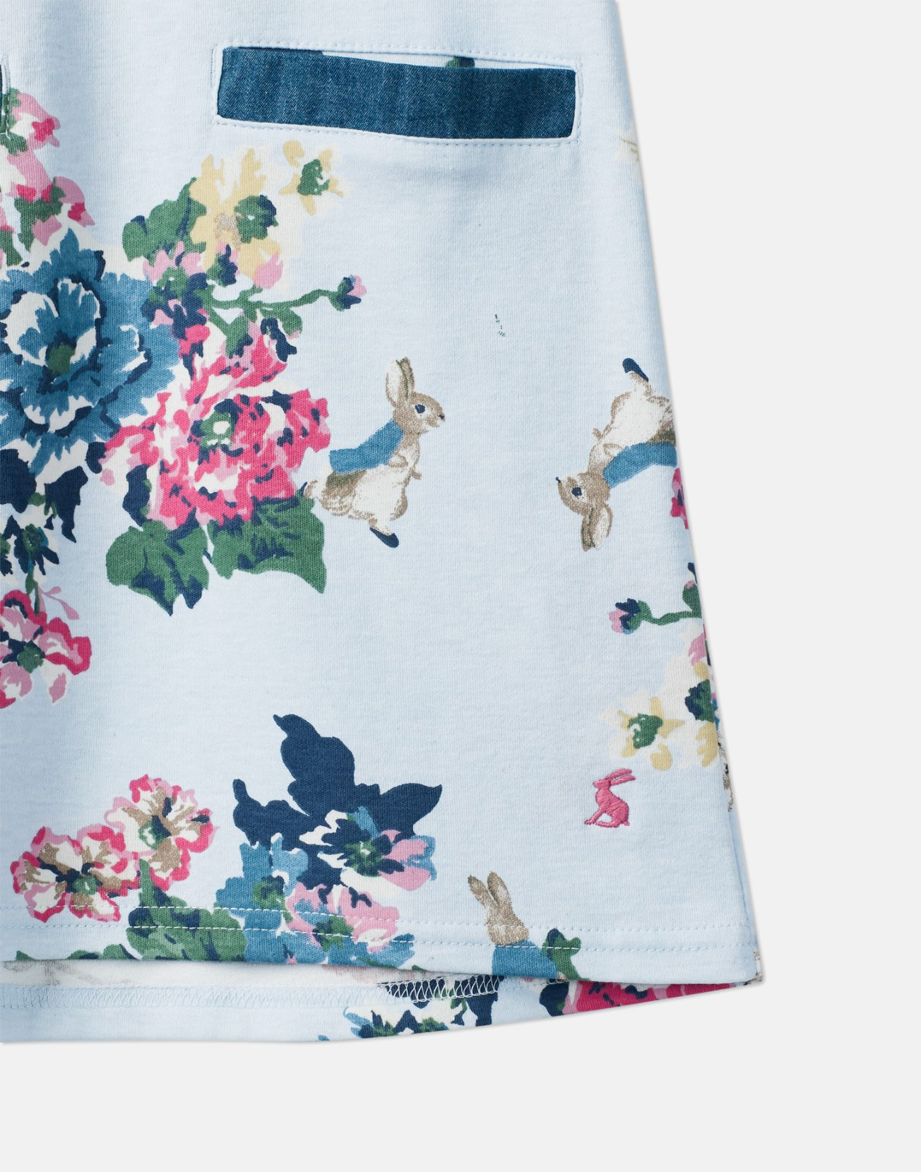 Patch Peter Rabbit Pocket Dress  | Joules