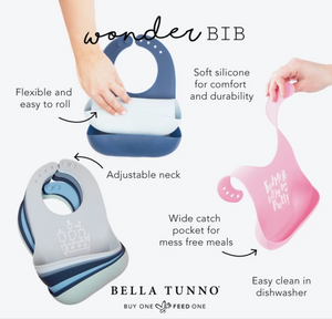 100% Organic Wonder Bib | Bella Tunno
