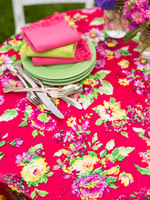 "Jordan Oilcloth Tablecloth 52""x72"" 