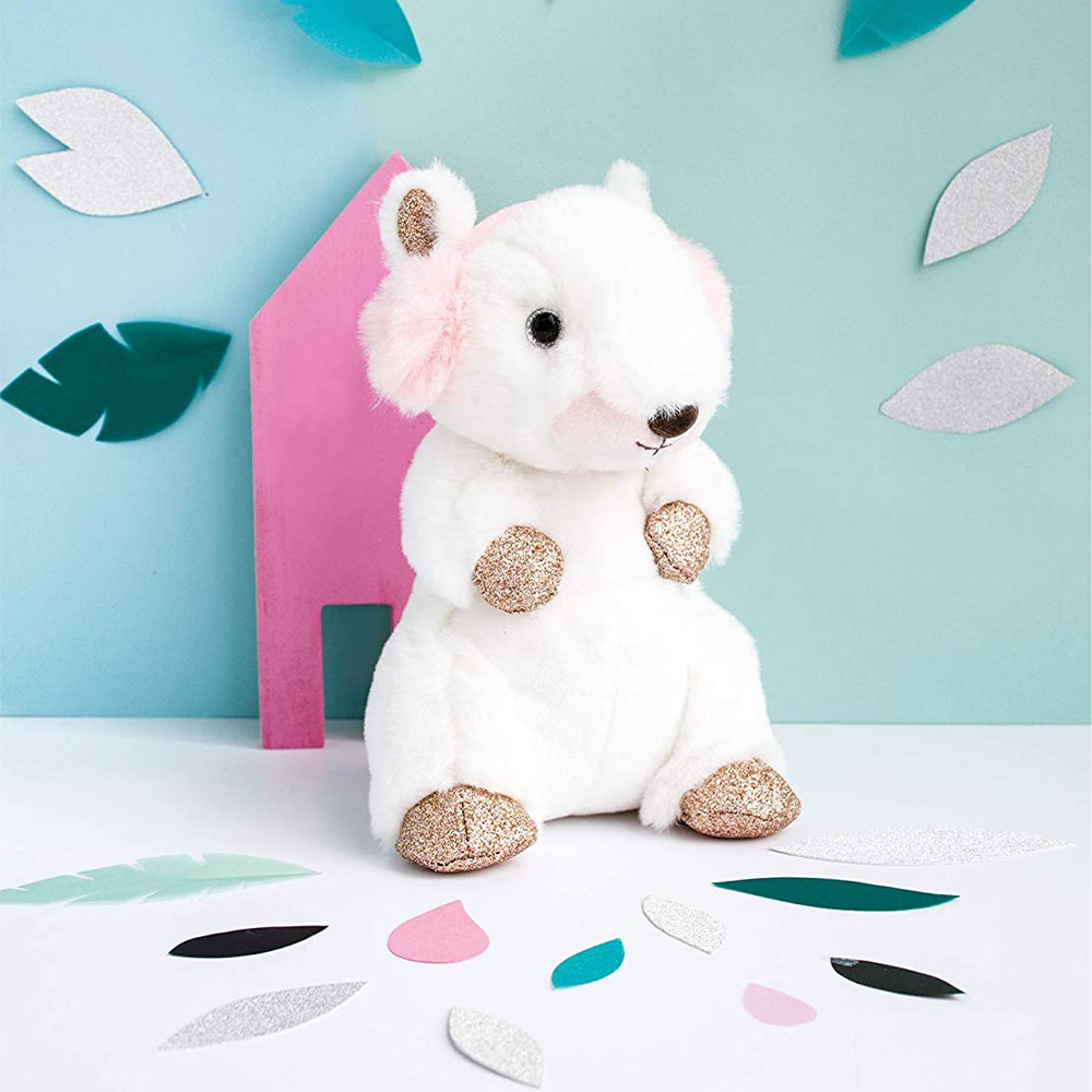 Histoire D'ours Squirrel with Earmuffs | DouDou et Compagnie
