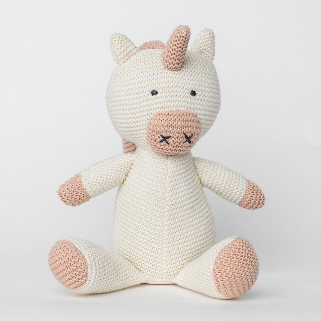 Organic Cotton Classic Knit Unicorn | Zestt Organics