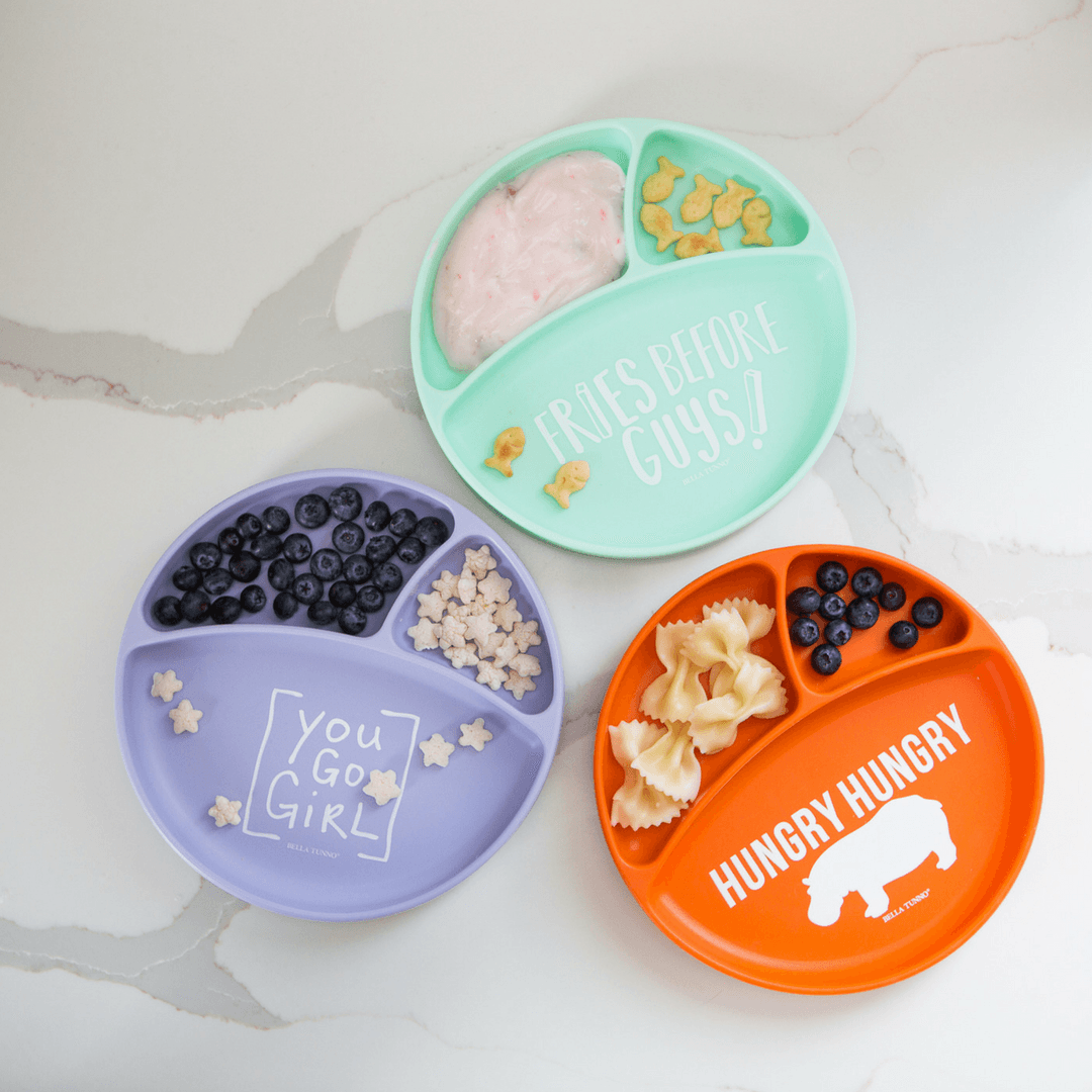 100% Organic Wonder Plates - Various Colors | Bella Tunno