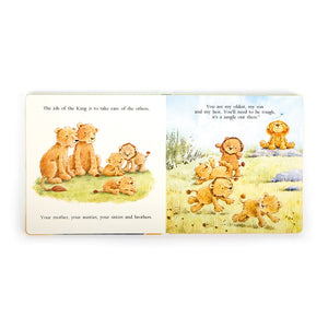 The Very Brave Lion Book | Jellycat