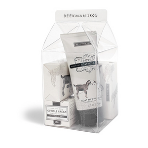 Vanilla Absolute Milk Carton Gift Set | Beekman 1802