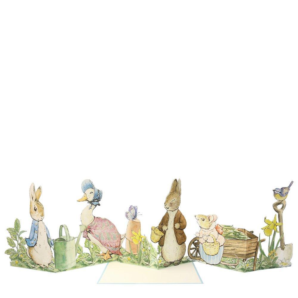 Peter Rabbit Concertina Card | Meri Meri