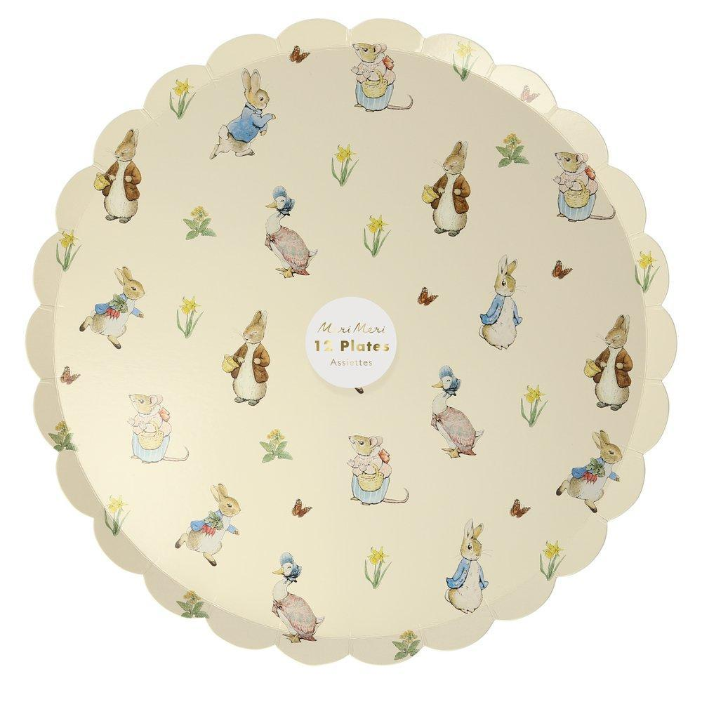 Peter Rabbit & Friends Dinner Plates | Meri Meri