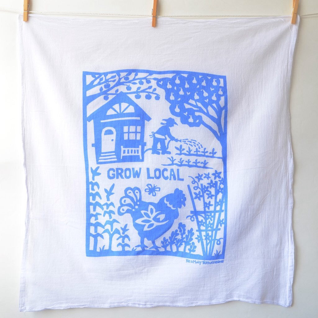 Flour Sack Dish Towels | Kei & Molly
