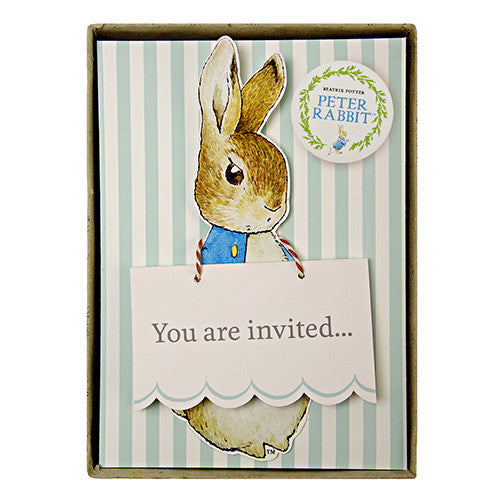 Peter Rabbit Boxed Invites | Meri Meri