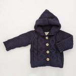 Hooded Coat Sweater - Various Colors | Huggalugs