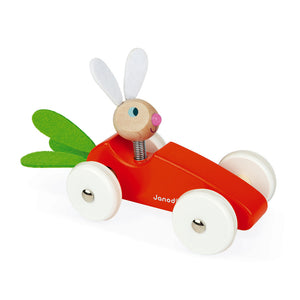 Lapin Carrot Cat (Wooden) | Janod