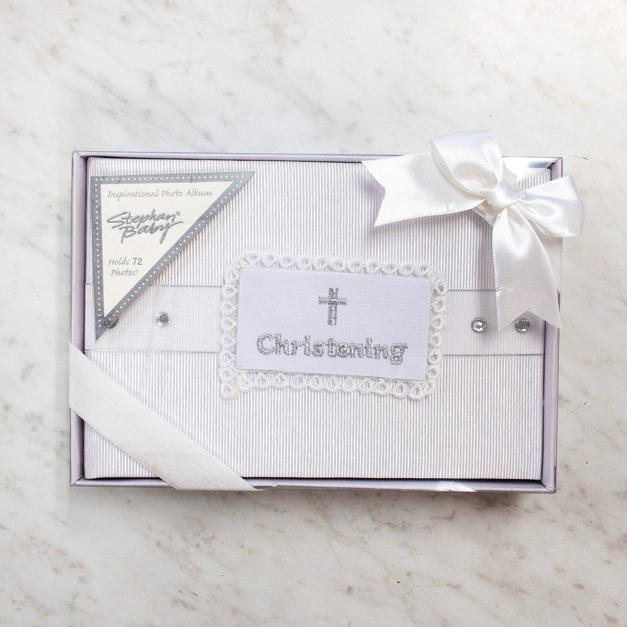 Christening Photo Album | Stephan Baby