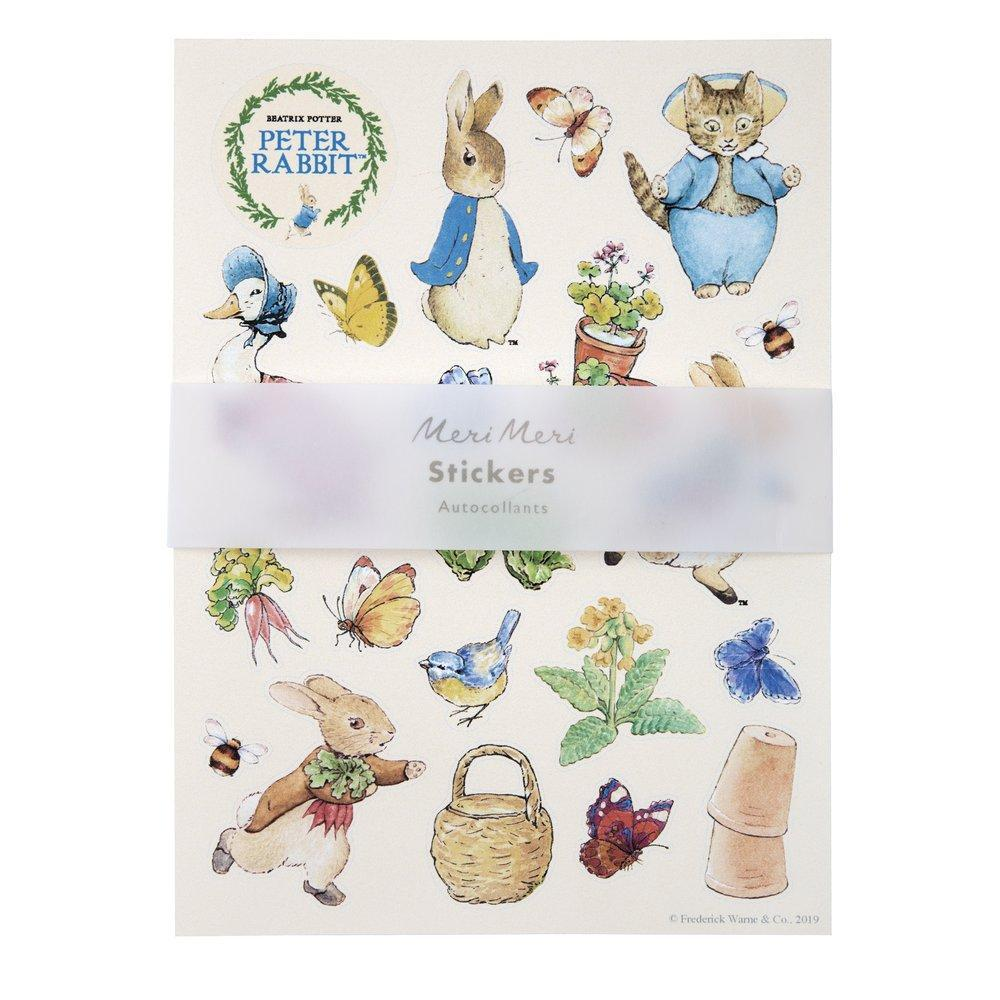 Peter Rabbit Sticker Sheets | Meri Meri
