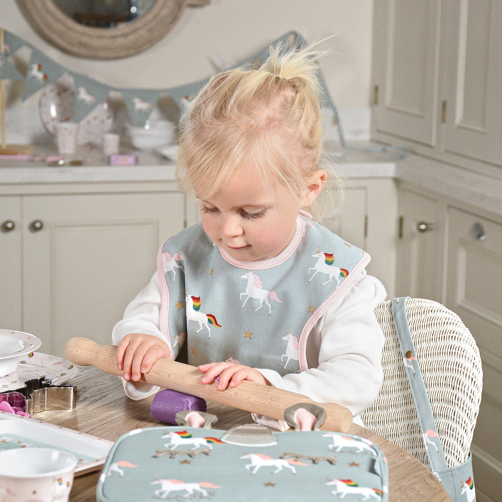 Unicorn Child Bib | Sophie Allport
