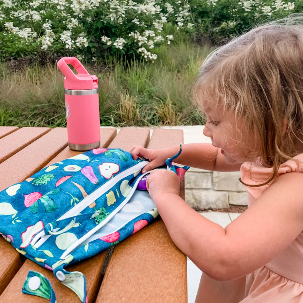 Waterproof Wet Bag (For mealtime, on-the-go, and more!) | Bapron Baby