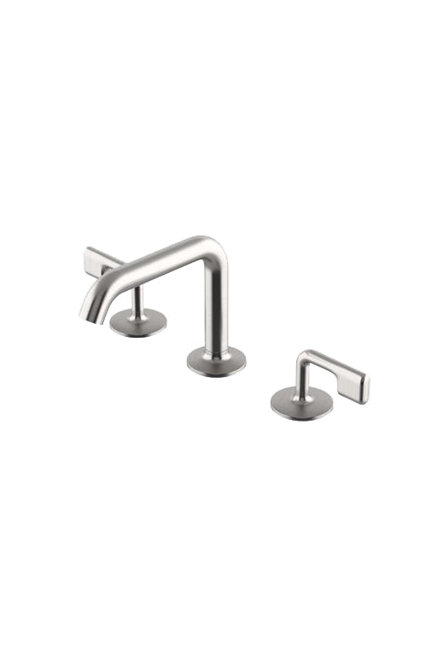 Waterworks .25 High Profile Lavatory Faucet in Matte Nickel