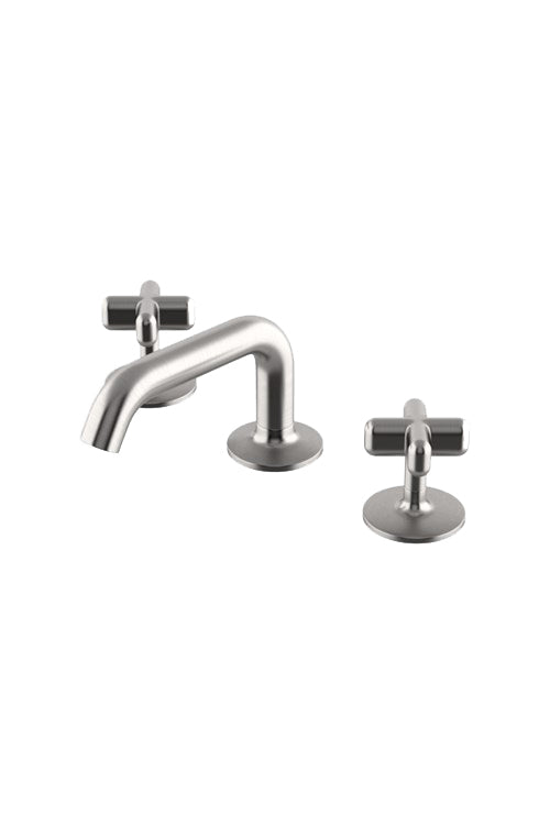 Waterworks .25 Low Profile Lavatory Faucet in Matte Nickel
