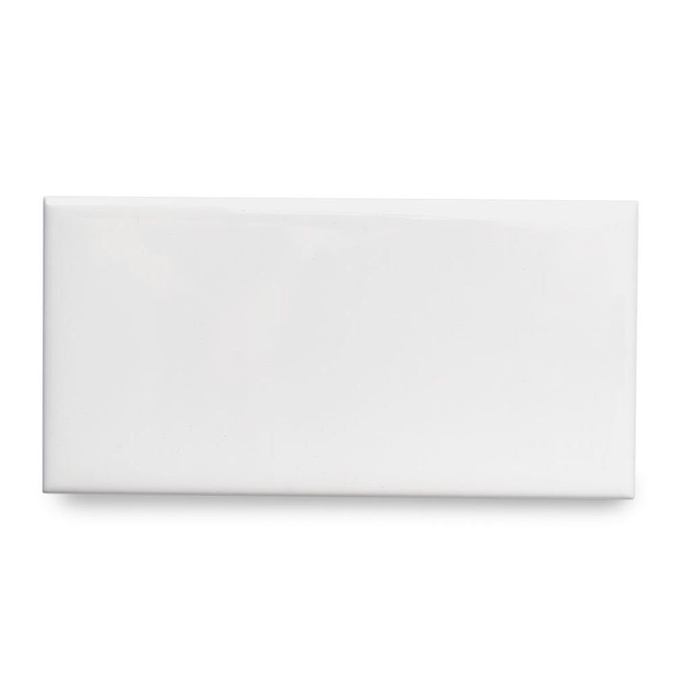 "Waterworks Campus Field Tile 3"" x 6"" Bullnose Single (Long) in Cinder Glossy Solid"