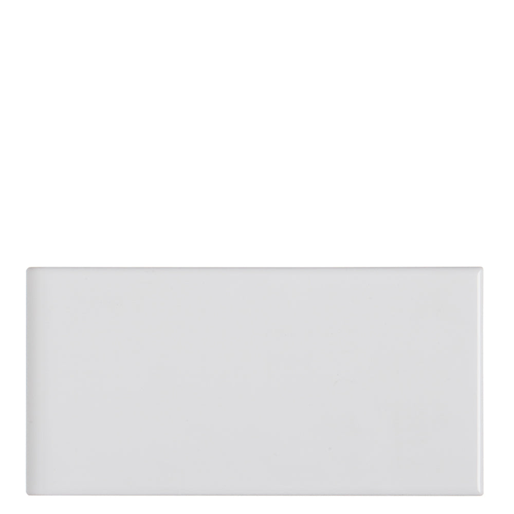 "Waterworks Campus Field Tile 3"" x 6"" x 1/4""  in White Glossy"