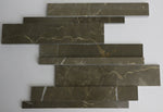 Marble Mosaic in Olive Green