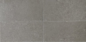 "Waterworks Studio Stone Field Tile 3 x 6 x 3/8"" in Argent Polished"