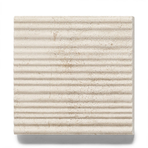 Waterworks Keystone Bamboo Field Tile 4 x 4 in Beige
