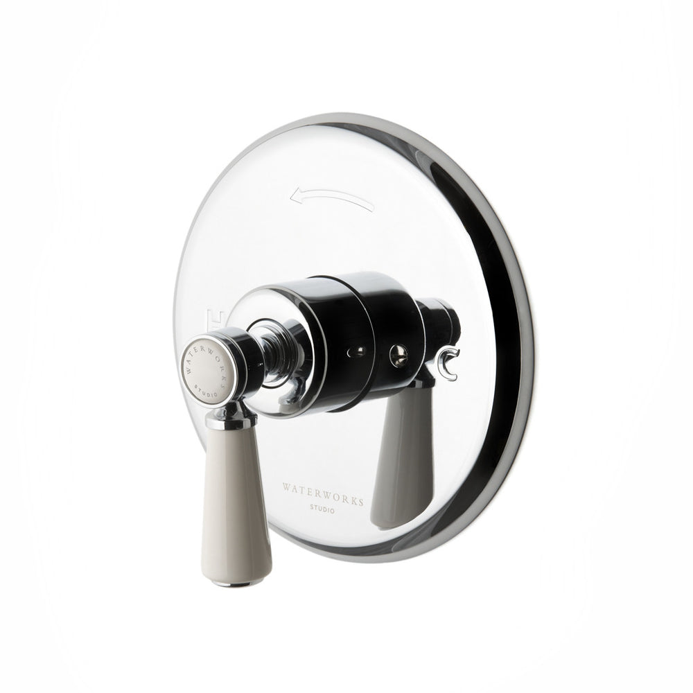 Waterworks Highgate Pressure Balance Control Valve Trim in Nickel