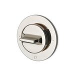 Waterworks Formwork Three Way Diverter Valve Trim for Thermostatic System in Matte Nickel