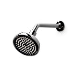 ".25 5 1/2"" Shower Head, Arm and Flange in Brushed Nickel"