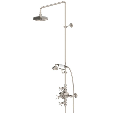 Easton Classic Thermostatic System in Brushed Nickel