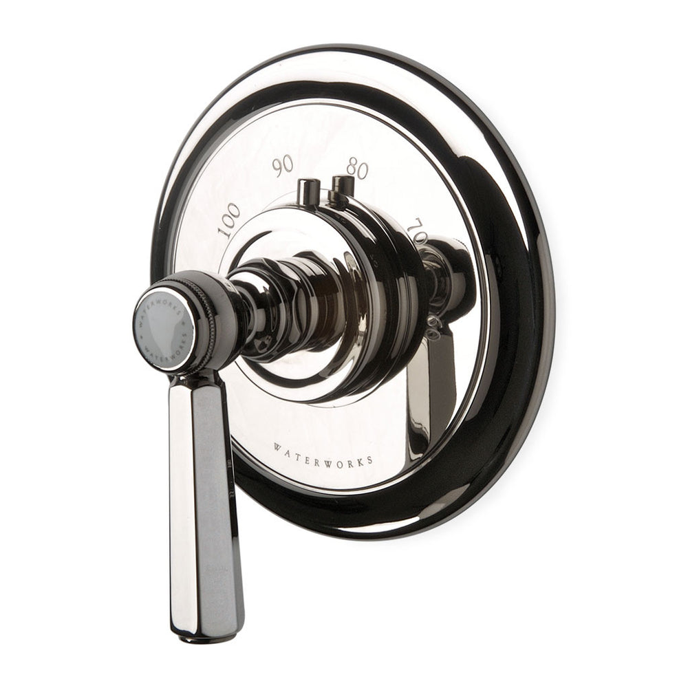 Waterworks Astoria Thermostatic Control Valve Trim in Nickel